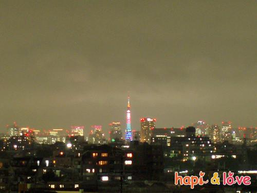 091005-オリンピックカラーの東京タワー-s