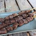 写真: 山形牛 串焼き