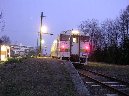 新十津川駅ホーム