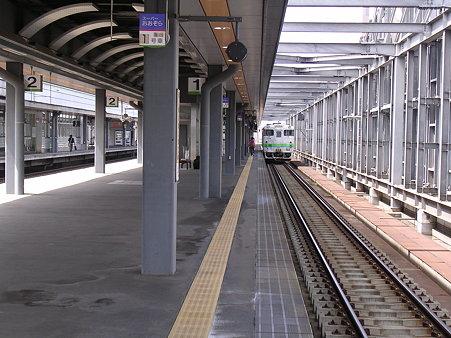 帯広駅ホーム