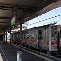 写真: 知床斜里駅1