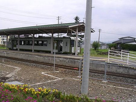 十和田南駅ホーム