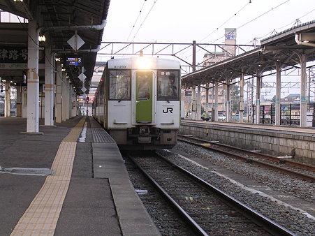 会津若松駅ホーム2