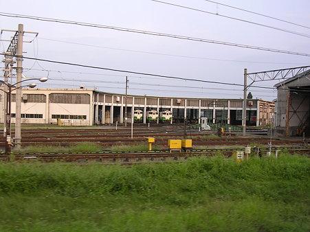 会津若松機関庫
