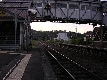 上川駅ホーム1