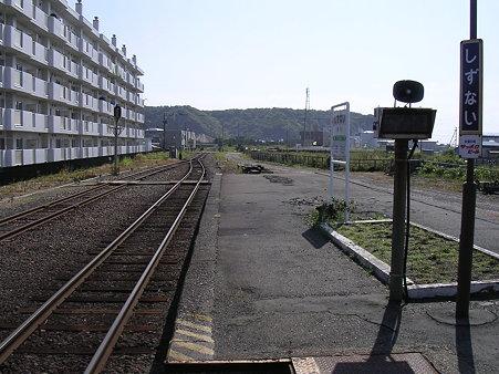 静内駅ホーム2