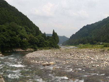 当日の板取川