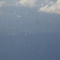 写真: 山口県上空