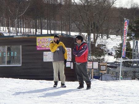 太平中スキー実習 (2)