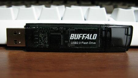 BUFFALO USBメモリ RUF2-E8GL-BK