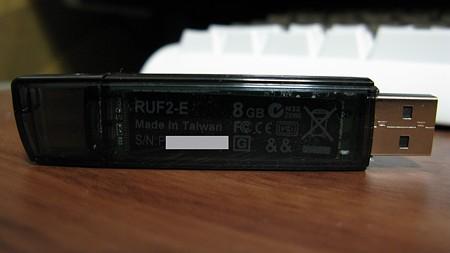 BUFFALO USBメモリ RUF2-E8GL-BK(2/2)