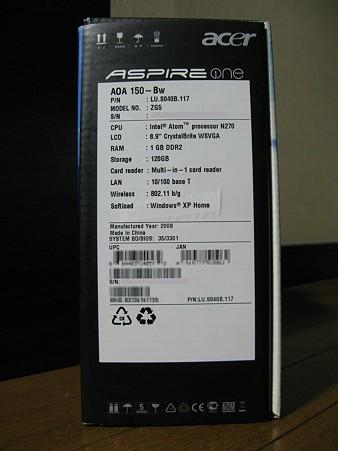 2009.10.18 Acer Aspire One AOA150(2/12)