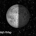 写真: Operaウィジェット:Moon Phase(Small表示、データなし)