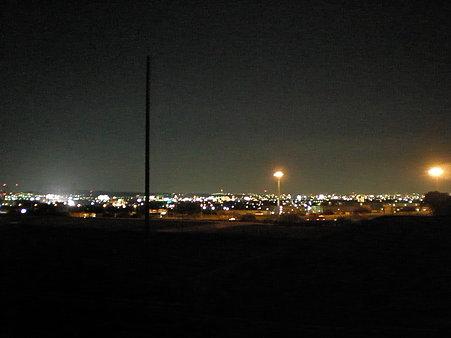 小牧大草工業団地から見た夜景