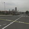 Googleストリートビュー:桃花台センター交差点 2