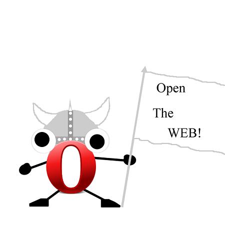 Operaオリジナルマスコット:O(オー)チャン