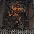 写真: 東大寺南大門・金剛力士像(阿形)