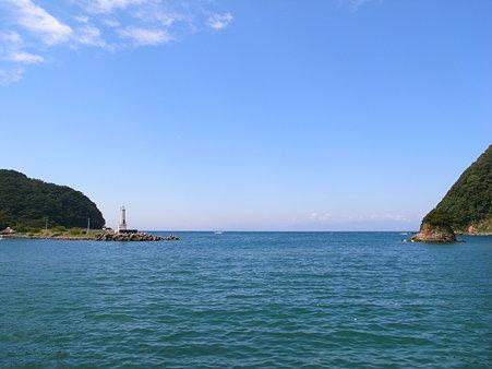 西伊豆の田子付近の海