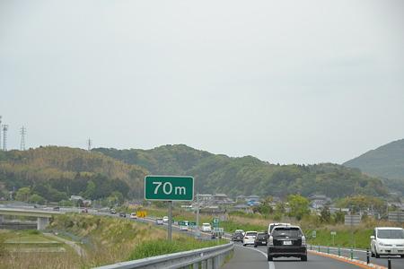 連なる車達@富津館山道路