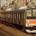 Photos: 武蔵野線 夕陽に向かって