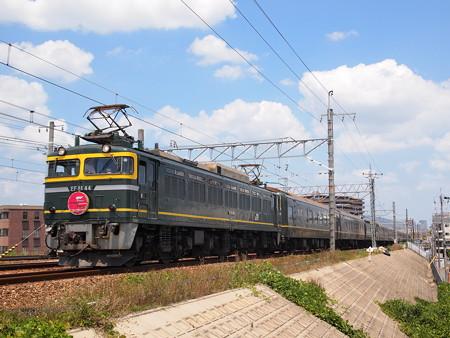 EF81 寝台特急トワイライトエクスプレス 東海道本線摂津富田~茨木