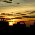 写真: 夏の日の出