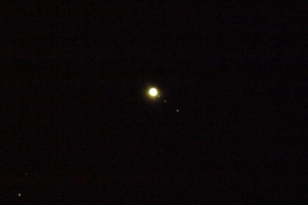 写真: 木星とその仲間