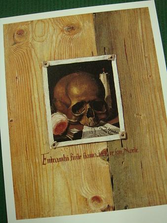 「死を想え」@パンフ@だまし絵展
