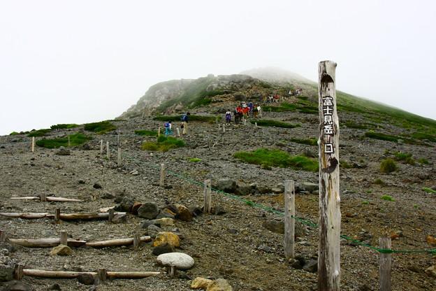 乗鞍 富士見岳口
