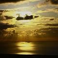 写真: 黄金の日本海