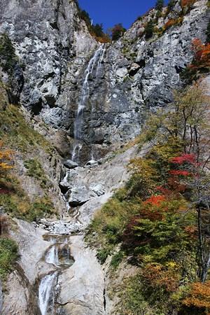 ふくべの大滝  白山スーパー林道 紅葉