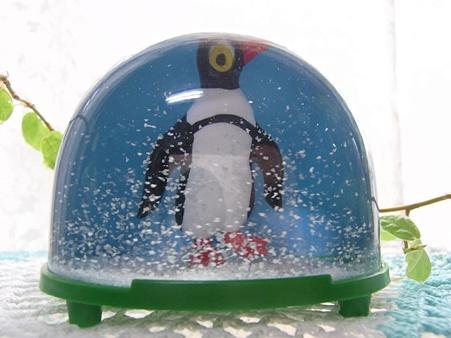スノーグローブ ペンギン