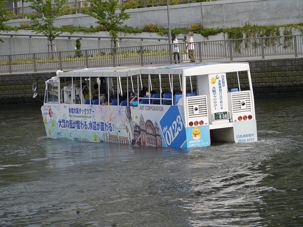 写真: 水陸両用