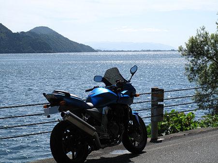 湖北の湖岸道路1
