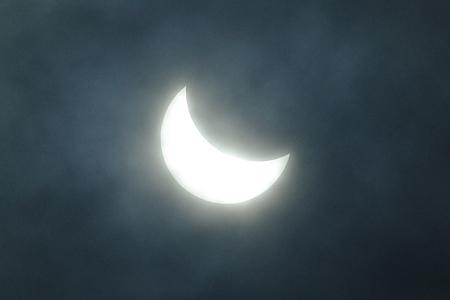 部分日食の経時的変化(2)