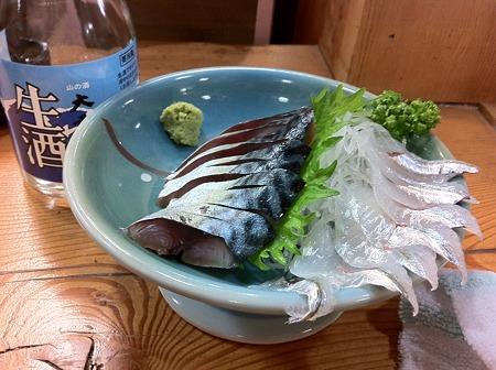 しめ鯖とサヨリ
