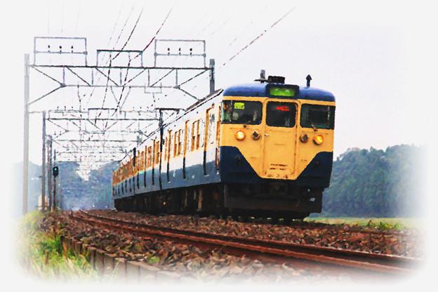Photos: 総武本線 物井-佐倉 普通列車 113系