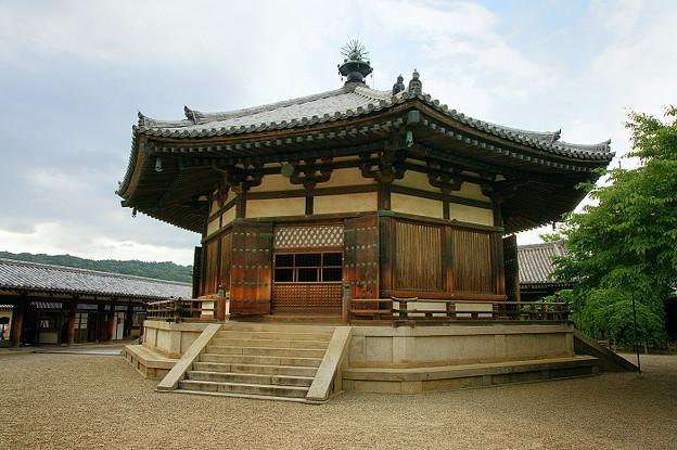 写真: 奈良-法隆寺 夢殿