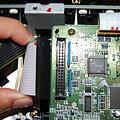 写真: XP-50 音源基盤コード接続確認用2