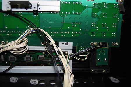XP-50 液晶取り付け部分細部2