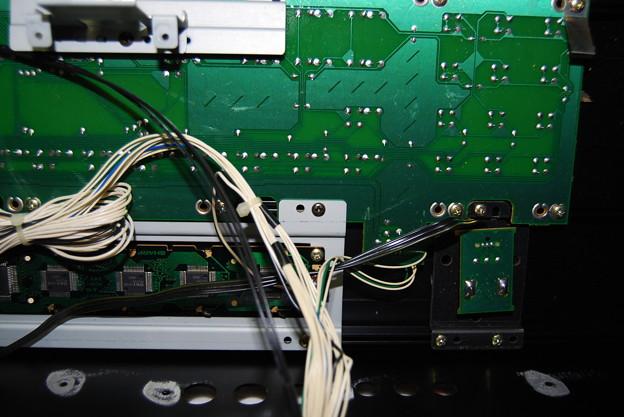 写真: XP-50 液晶取り付け部分細部2