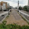 写真: 創成川通りと、てれびとうさん