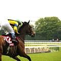写真: フローラS ダンスファンタジア 返し馬