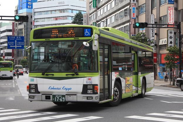 国際興業バス 5132号車