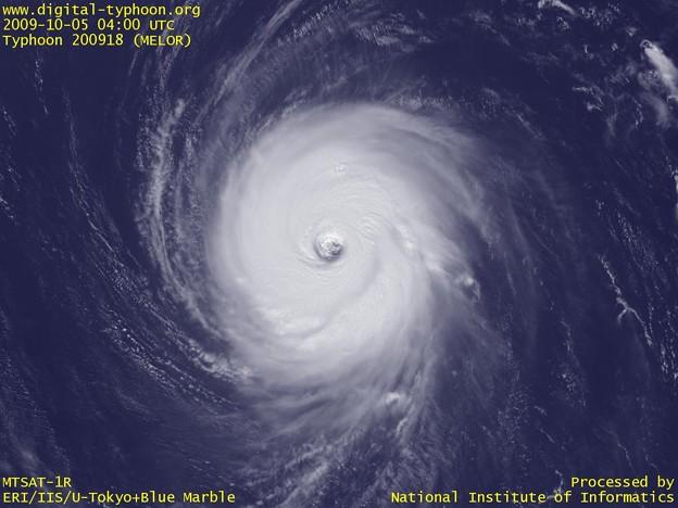 Photos: 09台風18号