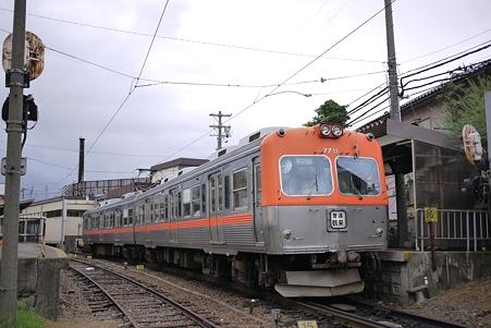 北陸鉄道7700系 野町駅