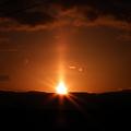 自然のスペクタクル…朝日・夕日を楽しみませんか ♪♪♪