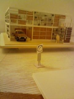 Photos: オノケンさんの展示です。 マルヤ四階!