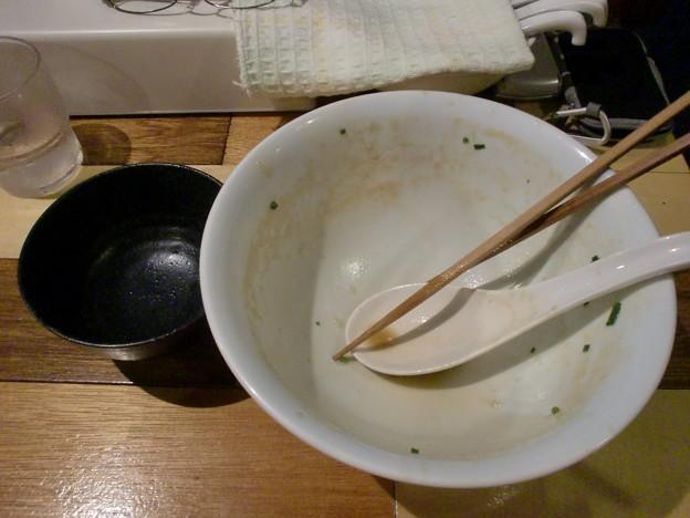 Photos: らーめん佳 完食