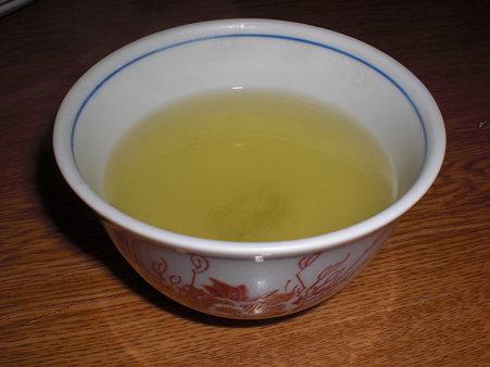 食後の日本茶